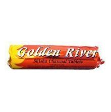 Shishakohle Golden River Yellow ca. 33mm
