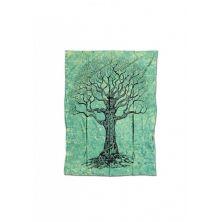 Batik Tuch Tree 140 x 220 cm