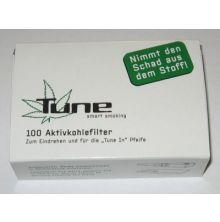 Tune / Actitube  - Aktivkohlefilter 9mm -  100 Stk.