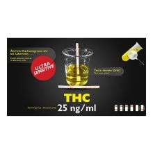 Clean Urin, THC Test Extra Sensitiv, 25ng/ml