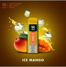 N One Dispo Pod NicSalt 20mg - Ice Mango - 1 Stk